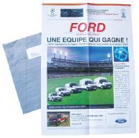Pour promouvoir vers les professionnels sa gamme d'utilitaires, Ford, partenaire de la compétition internationale Champions League, a repris les codes du magazine sportif L'Equipe pour présenter la sélection 2008 de ses véhicules.
