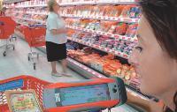 Grâce à l'assistant shopping, conçu par Wincor, l'enseigne va pouvoir diffuser sur l'écran du terminal des promotions ciblées.