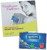 Le catalogue cadeaux de Shopi propose aux porteurs de carte 70 produits, transformables à partir de 150 et jusqu'à 11 000 points fidélité.