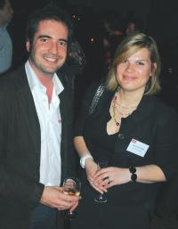 Stéphane Claret (Pageondemand), Isabelle Sallard (Marketing Direct).