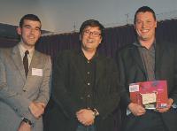 Patrick Russo (LaSer), Guillaume Villemot (Isobar) et Jean-Sébastien Hongre (Planète Interactive).