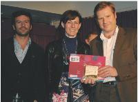 Lionel Benbassat (Eurostar), Nathalie Lefebvre (MDexpo) et Yann Carré (DMC).