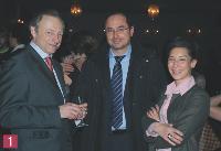 François Rouffiac (Editialis), Bassam Chour (Chouradviser), Assia Etiko (Affinion International).