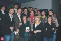 L'équipe de FullSIX et d'Eurostar.