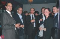 Hervé Lenglart (Editialis), Didier Farge et Nicolas Giard (Conexance MD), Arnaud Caplier (Acxiom), Nathalie Phan Place (SNCD)