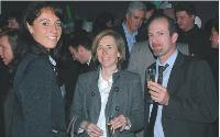 Emmanuelle Jasson (LaSer), Béatrice Grenade et Stéphane Souchaud (LeGuide.com).