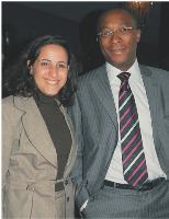 Leïla Boutaleb-Brousse et Olivier Njamfa (Eptica).