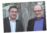Jean-Hugues Allard et Samer Roumieh, cofondateurs du site marchand www.musiclassics.fr.