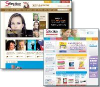 Sélection Readers's Digest a fait évoluer son volet web vers un site marchand.