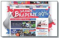 Sur les grands sites d'e-commerce, la page d'accueil, qui fait office de clé d'entrée au site, est de plus en plus merchandisée.