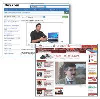 Dès 2005, les sites Buy.com et ChateauOnline proposaient des vidéos.