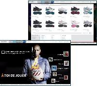 Avec son nouveau site, Reebok souhaite créer une expérience de shopping intuitive et personnalisée.