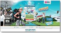 Sur le site de Ciba Vision, les 15-24 ans peuvent participer à un jeu-concours et gagner un voyage sportif.