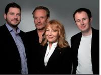 Les fondateurs d'Into the Real: Julien Bich, Jean-Pierre Chebas- sier, Evelyn Soum et Richard Levasseur.