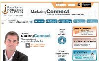 Pour séduire les PME, MarketingConnect a simplifié son site, qui propose aux annonceurs de réaliser eux-mêmes leur campagne.
