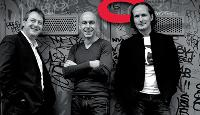 Bertrand Wolff, Frédéric Mauger et Jean-Marc Diviki (de g. à dr.), les trois chefs d'orchestre de Wolffgang.