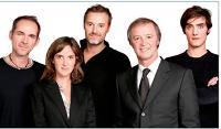 L'équipe de Made by Digitas (de g. à dr): Paul Gruber, Ariane Rivier, Olivier Delas, Stéphane Amis et Karim Massoteau.