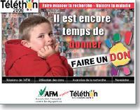Afin de générer des dons, l'AFM- Téléthon a lancé deux campagnes d'e-mailing avec Directinet.