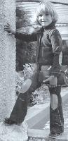 A 5 ans, Matthieu de Lesseux pose pour Absorba, une marque de vêtements pour enfants, dans le magazineJours de France.