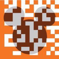 Orange Business Services a imaginé un code deux dimensions aux couleurs de la marque une première en France.