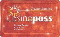 Dédiée aux amateurs de jeux, la carte Casinopass a déjà séduit 400 000 clients.