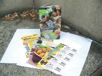 Le magazine papier, envoyé à 1 million d'abonnés, intègre bons de réduction, échantillons, recettes, conseils...