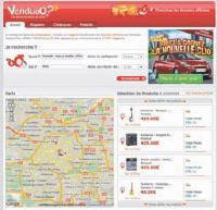 Venduoo.fr centralise actuellement l'information de près de 60000 points de vente en France.