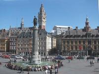 La Grand'Place de Lille, cceur historique de la cité.