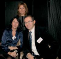 Marie-Christine Cambron, Christine Charles et Jean-Christophe Dupuy (Microsoft).