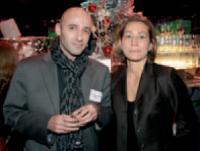 Pierre-François Peltier-Veiler (Mediapost) et Marie-Juliette Levin (Editialis).