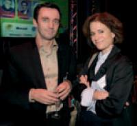 Laurent Kollen (KPAM) et Fabienne Granovsky (SNCD).