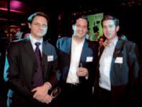 Etienne Lepoutre (PricewaterhouseCoopers), Grégoire Clery (Editialis), et Amaury Jallot (Accor Services).