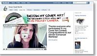 L'interconnexion entre Facebook et YouToube permet aux internautes de communiqueravec Katie Vogel.