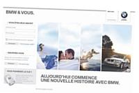 La plateforme BMW & Vous permet de maintenir le contact avec les clients.