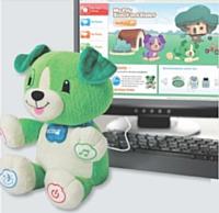 Bientôt disponible, Violette est une peluche interactive et capable de mémoriser le prénom et les goûts de l'enfant.
