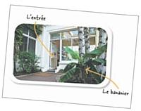 La Bananeraie, siège social, de Michel&Augustin.