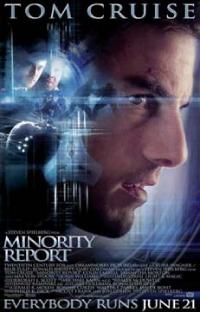 Minority report et Le Pacha, deux films, pour différents à égalité dans son coeur.