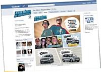 La campagne de Volkswagen Les Héros d'aujourd'hui, a affiché plus de 1 000 fans sur la page Facebook dédiée à l'événement.