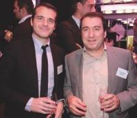 Frank Desvignes (BNP Paribas) et Roland André (SNCD).