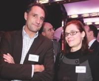 Hervé Lenglart (Editialis) et Nathalie Phan Place (SNCD).