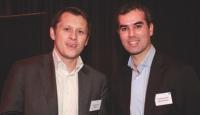 Matthieu Bouin (Webhelp) et Stéphane Fauchet (Editialis).