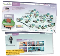 Le site Lesecohabitants.fr a établi une carte des villes les plus énergivores.