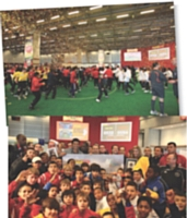 Panini, champion de com': plus de 3 000 visiteurs se sont déplacés pour cette grande fête du foot.