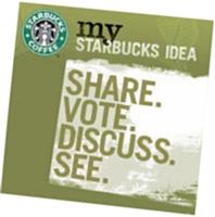 La communauté My Starbucks Idea rassemble 250 000 fans.