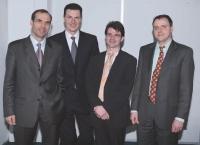 Les quatre fondateurs de Neolane.