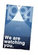Le serial entrepreneur voit en 1984 un reflet de la société actuelle.