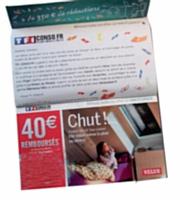 1,8 million de foyers ont reçu les prospectus publicitaires de TF1Conso.