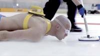 L'art de devenir balayeur de curling «humain».