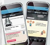 L'application Plyce réduit la liste proposée aux seuls magasins qui acceptent de payer son service.
