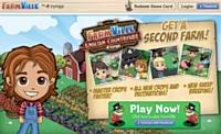 Les citadins sont accros du jeu Farmville qui consis à diriger une ferme virtuelle